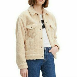 LEVI'S NWT Wmns Ex-Boyfriend Sherpa Jacket XL